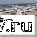 Аэропорт Толмачево  в городе Новосибирск  в России